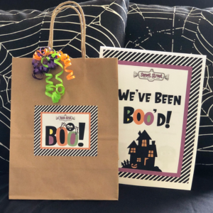 Sweet Street Boo Bags